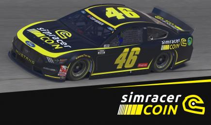 Simracer Coin - Ford Mustang