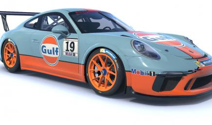 Gulf Porsche 911 Cup Car