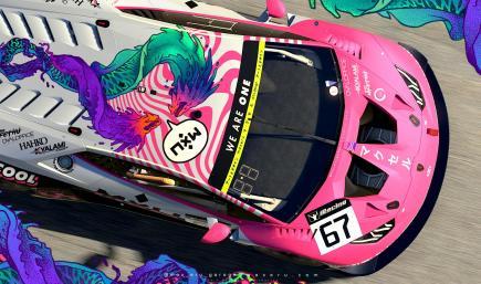 MXU Pink - Lamborghini Huracan GT3 EVO