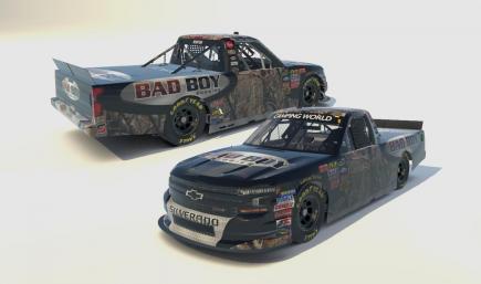 2011 #2 Kevin Harvick Bad Boy Buggies Chevrolet Silverado Truck 2019 No Numbers