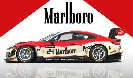 BMW M4 GT3 Marlboro