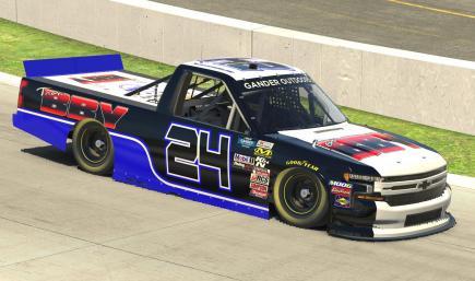 Austin Boelke #24 Chevy Silverado