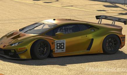 Orange Color Shift Lamborghini Huracan GT3