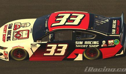 Sim Racing Shirt Shop Cup Car (Custom #)
