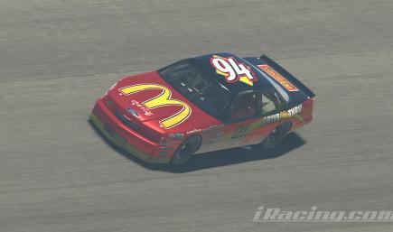 1999 Bill Elliott McDonalds Ford (No #)