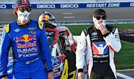 Travis Pastrana #45 Red Bull/Subaru Motorsports USA 2020 NASCAR NASCAR Gander RV & Outdoors Truck Series