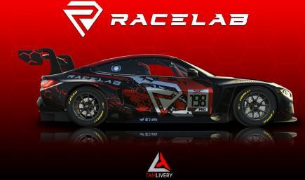 BMW M4 GT3 Racelab Livery
