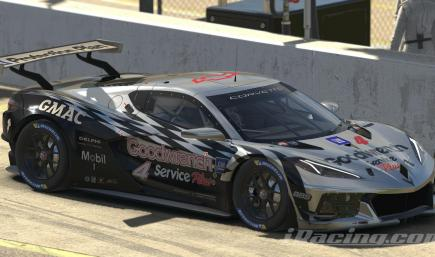 Gm Goodwrench Service Plus Corvette C8R 2001 throwback