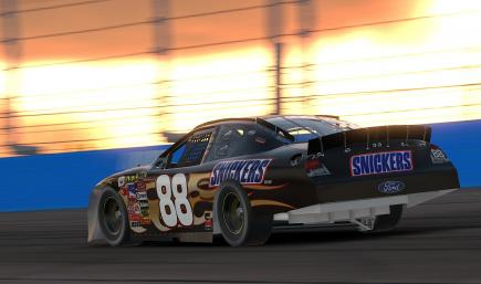 2007 Ricky Rudd Snickers Ford Fusion - No Numbers
