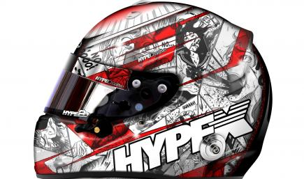 HypeX Helmet Design / Code Red
