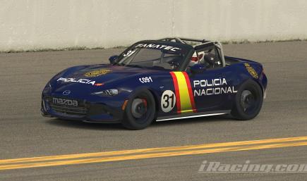 Mazda MX5 Policia Nacional