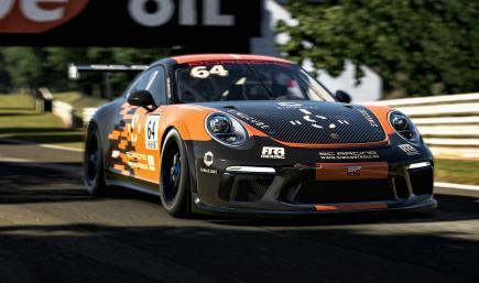 Porsche 911 Cup  No Name by simcontrols.eu