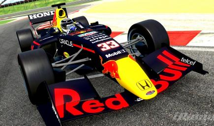 Redbull Racing Honda 2021 RB16B / FR35