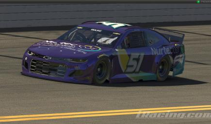 Cody Ware #51 Nurtec OTC 2021 NASCAR Cup Series