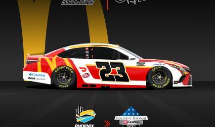 NO NUMBER Bubba Wallace McDonalds Camry - 23XI Racing