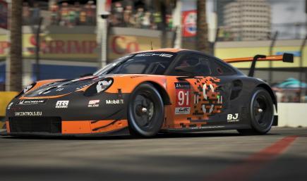 Porsche 911 RSR By Simcontrols.eu