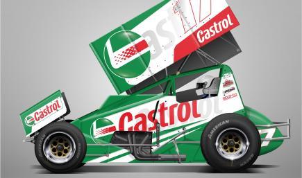 Castrol Concept Sprintcar