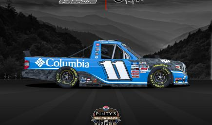 OFFICIAL Bubba Wallace - Columbia #11 Bristol Dirt Truck - w/ NUMBERS