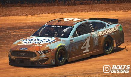 Kevin Harvick 2021 #BuschDirtCar (No Number)