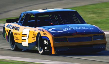 McLaren F1 1987 Monte Carlo