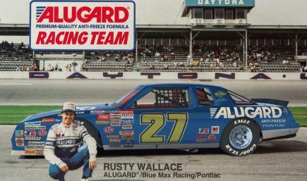 Rusty Wallace Alugard/Blue Max Racing Pontiac