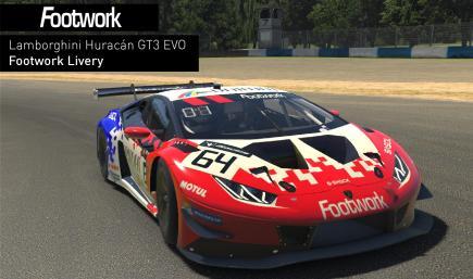 Footwork Huracán GT3 Evo