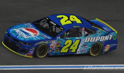Jeff Gordon 2004 Pepsi Shards Camaro *CUSTOM NUMBER*