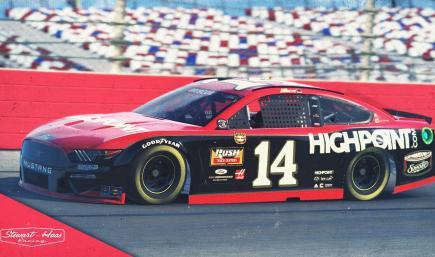 #14 Chase Briscoe High Point 2021 AJ Foyt NASCAR Throwback- NO NUM
