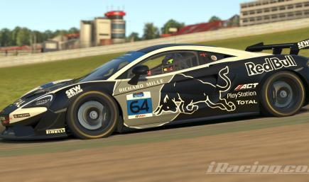RedBull Energy Drink McLaren GT4 BlackBull
