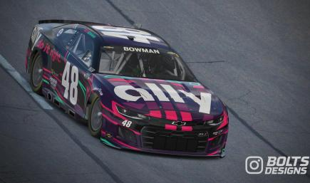Alex Bowman #48 Ally 2022 Concept (Numbered)