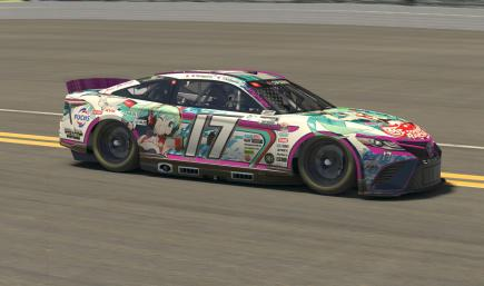 Goodsmile Racing 2020 NASCAR Toyota Camry Next Gen [Hatsune Miku GT Project]