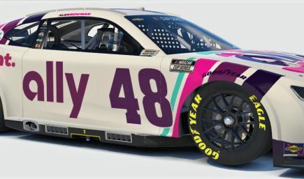 Alex Bowman Ally Next Gen Camaro ZL1 1LE (No Numbers)