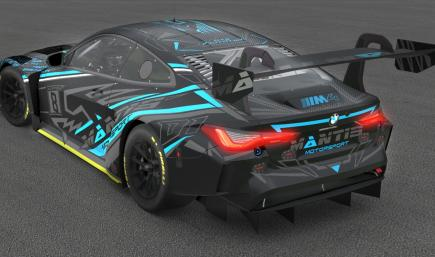 BMW M4 GT3 ONYX / BLUE CARBON