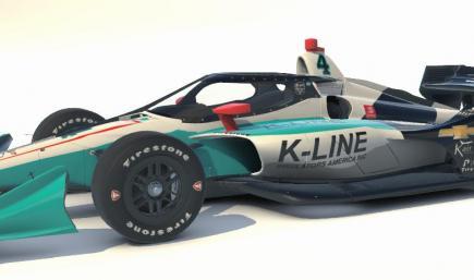 #4 Dalton Kellett K-Line No Number Chevy