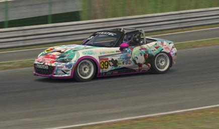 Goodsmile Racing 2020 Global Mazda MX-5 Cup [Hatsune Miku GT Project]