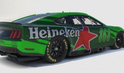Heineken NASCAR Next Gen Mustang