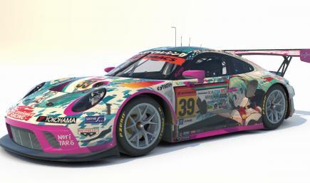 Goodsmile Racing 2020 Porsche 911 GT3 R [Hatsune Miku GT Project]