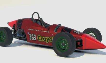 Crayola Crayon Formula Vee