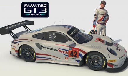 WeatherTech Porsche 911R GT3 WEC AM WRR