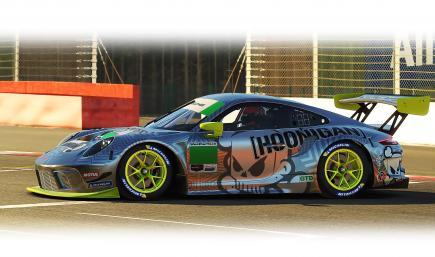 Hoonigan Porsche 911R GT3 v3B 2021
