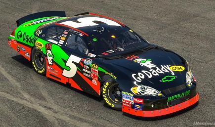 2009 Dale Earnhardt Jr GoDaddy.com Impala (No #s)