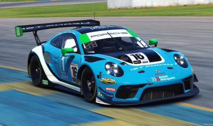 Wright Motorsports #16 - 2021 IMSA WT (Regular Version)