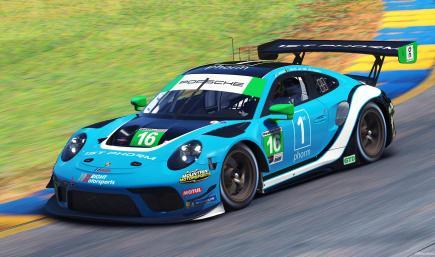 Wright Motorsports #16 - 2021 IMSA WT (IMSA Series Version)