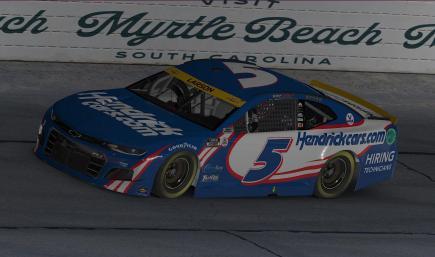 Kyle Larson Hendrick Cars Playoffs 2021