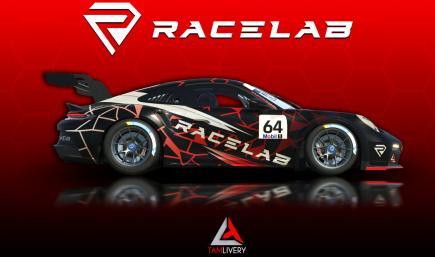 Porsche 911 GT3 Cup (922) Racelab Livery