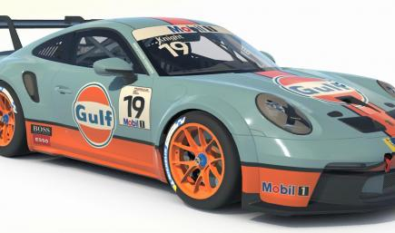 Gulf Porsche 911 Cup (992) Car