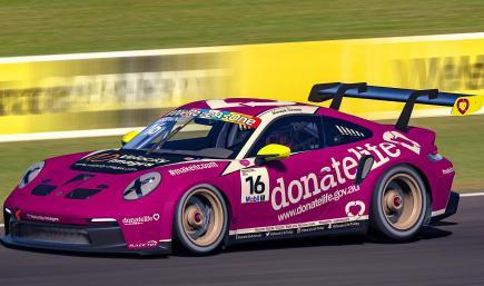 Donate Life Porsche 911 GT3 CUP (992)