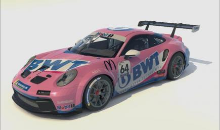 Porsche 992 Cup BWT J. B. Simmenauer