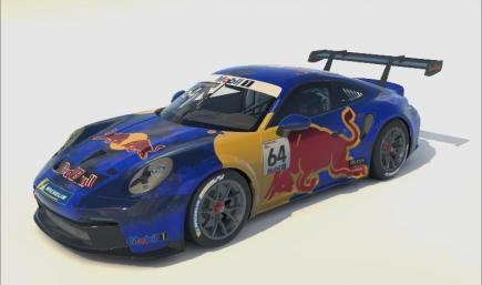 Porsche 992 Cup RedBull