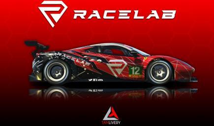 Ferrari 488 GT3 Evo 2020 Racelab Livery